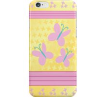 My little Pony - Fluttershy Cutie Mark V4 iPhone Case/Skin
