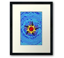 Starmie Vector Artwork Framed Print
