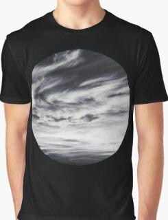moon of sky // black Graphic T-Shirt
