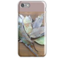 Branch of leaves wit leaf stalk iPhone Case/Skin