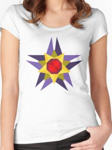 Starmie Vector Artwork Women's Fitted Scoop T-Shirt