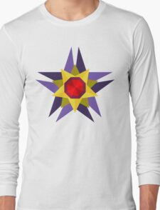 Starmie Vector Artwork Long Sleeve T-Shirt