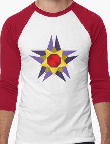 Starmie Vector Artwork Men's Baseball ¾ T-Shirt