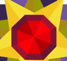 Starmie Vector Artwork Sticker