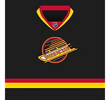 Vancouver Canucks Throwback Jersey Photographic Print