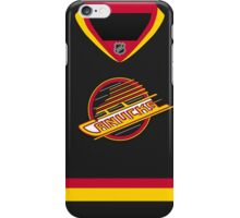 Vancouver Canucks Throwback Jersey iPhone Case/Skin