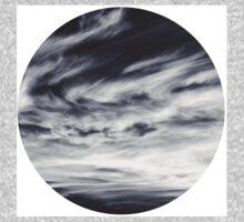 moon of sky // white Baby Tee