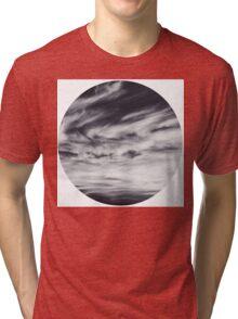 moon of sky // white Tri-blend T-Shirt