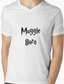 Muggle Born Mens V-Neck T-Shirt