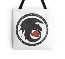 Night Fury Symbol Tee (How To Train Your Dragon Tote Bag