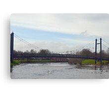 Exeter Bridge.......Exeter Quays, Devon UK Canvas Print