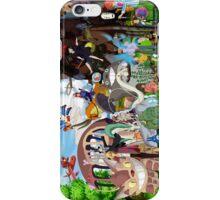 Studio Ghibli gang Characters iPhone Case/Skin