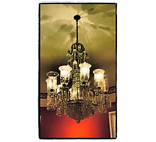 Telfair Chandelier Photographic Print