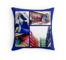Aerosol art and architecture 3 Throw Pillow