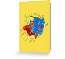 Super Coffee Greeting Card