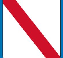 Flag of Campania Region, Italy  Sticker