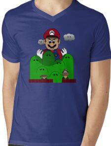 Scourge of Mushroom Kingdom Mens V-Neck T-Shirt