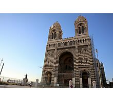 Marseille Cathedral, Roman Catholic cathedral in Marseille, southern France Photographic Print