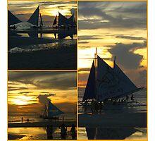 Boracay Sunset Photographic Print
