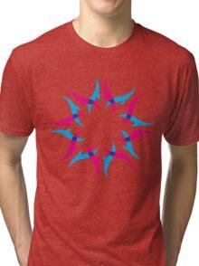 abstract shape design Tri-blend T-Shirt