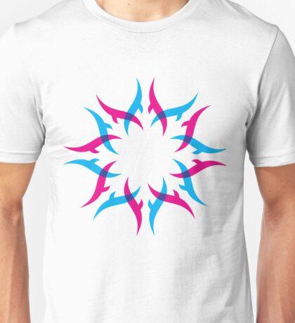 abstract shape design Unisex T-Shirt