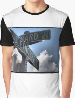On the Corner of Oglethorpe Graphic T-Shirt