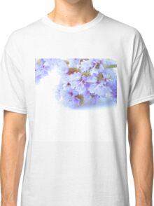 White In Blue Classic T-Shirt