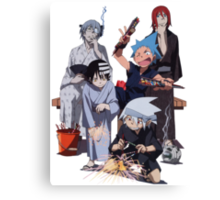 Fireworks with Soul Eater  Canvas Print