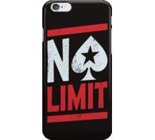 No Limit Poker iPhone Case/Skin