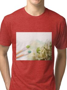 Paint To Real Tri-blend T-Shirt