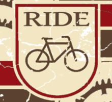 Bicycle classic Sticker