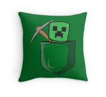 Pocket Creep Throw Pillow