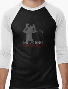 GEEC Club -Vote Jar Jar- Men's Baseball ¾ T-Shirt