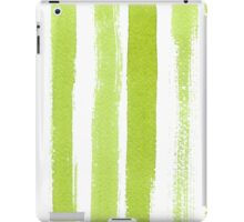 Green watercolor texture iPad Case/Skin