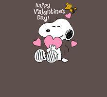 Happy Valentines Day Snoopy Unisex T-Shirt