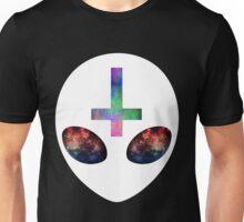 Tie-Dye Alien Cross Unisex T-Shirt