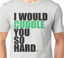 cuddle (blk/grn) Unisex T-Shirt