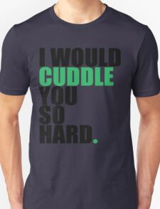cuddle (blk/grn) T-Shirt