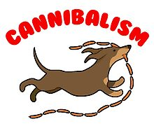 Sausage Dog Cannibal by harrison44