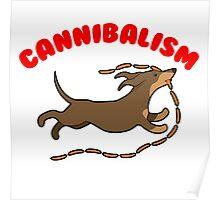 Sausage Dog Cannibal Poster
