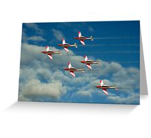 Roulettes in Motion Greeting Card