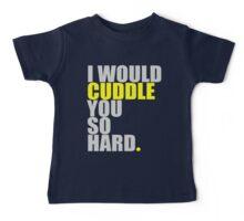 cuddle (yellow) Baby Tee