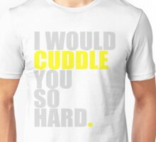 cuddle (yellow) Unisex T-Shirt