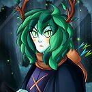 Huntress Wizard, Unmasked. by lythweird