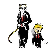 Calvin And Hobbes Partners In Crime by centelankatok