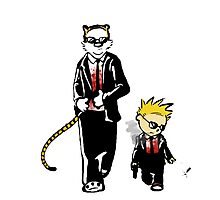 Calvin And Hobbes Partners In Crime Photographic Print