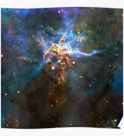 Expanse of God's Universe   Galaxy Mathematix Poster