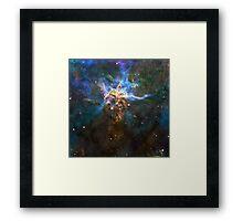 God's Impossible Triangle V1 | MXTHEMATIX Framed Print