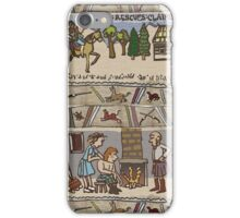 Part 3 of Outlandish Panels (Gabeaux Tapestry) iPhone Case/Skin