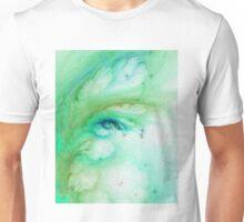 Aqua Negative Galaxy  Unisex T-Shirt